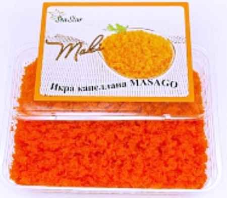 Купить Икра масаго оранжевая премиум