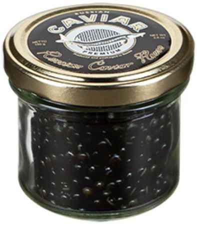 Купить Черная икра зернистая осетровая пастеризованная