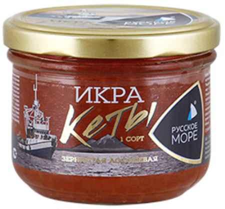 Купить Русское море Икра Русское море Кеты зернистая лососевая, 210г