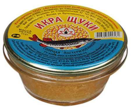 Купить Икра щуки соленая пастеризованная 112г