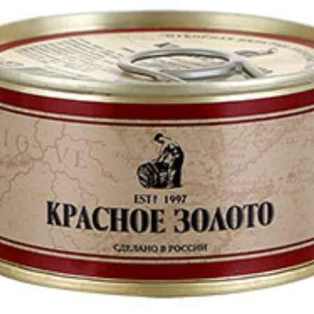 Купить Красное золото Икра Красное золото лососевая зернистая красная 140г