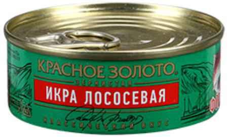 Купить Красное золото Икра Красное золото лососевая зернистая форель, 95г
