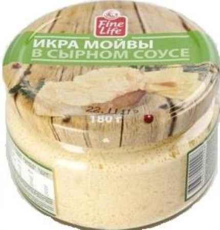 Купить Икра Fine Life Мойвы в сырном соусе